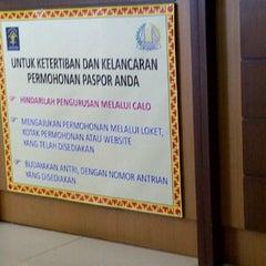 Photo taken at Kantor Imigrasi Kelas I Bandar Lampung by Vivi T. on 4/4/2012