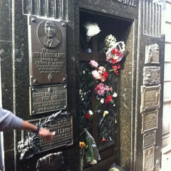 Photo taken at Eva Peron's Grave by Paulo J. on 6/27/2012