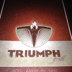 Photo taken at Triumph Grill by christi c. on 6/6/2012