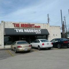 Photo taken at Hideout Pub by Ken J. on 2/24/2012