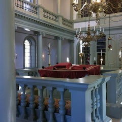 Photo taken at Touro Synagogue by Bruce S. on 2/26/2012