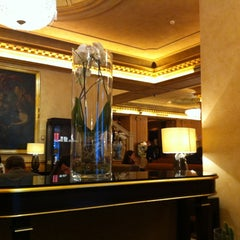 Photo taken at The Westin Palace Milan by Alisa Y. on 4/19/2012