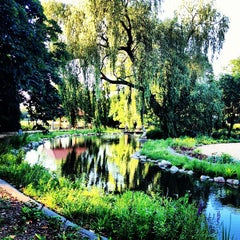 Photo taken at Fulham Palace Gardens by Jamie M. on 7/22/2012