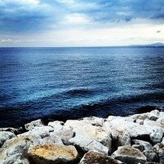 Photo taken at Acquamarina by Francesco C. on 9/1/2012