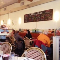 Photo taken at Cafe Luluc by Ashley M. on 3/4/2012