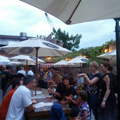 Photo taken at Pilsener Haus & Biergarten by Jon H. on 9/8/2012