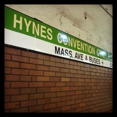 Photo taken at MBTA Hynes Convention Center Station by Paul H. on 4/23/2012