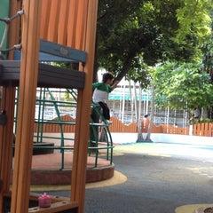 Photo taken at Playground by Pat B. on 8/21/2012