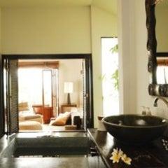 Photo taken at Sarikantang Resort & Spa, Koh Phangan by Chait S. on 2/27/2012