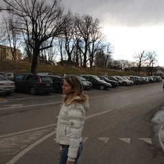Photo taken at Piazzale Burchiellati by Marion C. on 2/26/2012