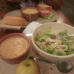 Photo taken at Panera Bread by justina on 7/29/2012