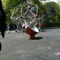 Photo taken at Vanderbilt Playground by Tony P. on 4/21/2012