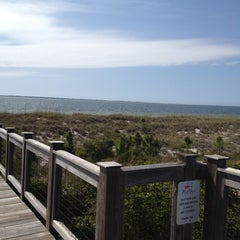 Photo taken at Windmark Beach by Scott & Heather P. on 3/24/2012