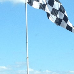 Photo taken at Talladega Superspeedway Allison Grandstands by Hannah S. on 9/10/2012