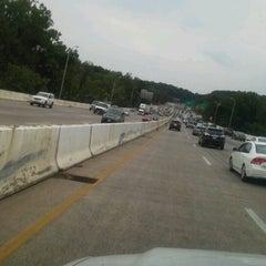 Photo taken at American Legion Memorial Bridge by Steve W. on 7/18/2012