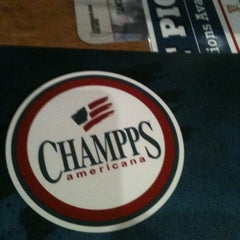 Photo taken at Champps Americana by Jordan M. on 4/20/2012