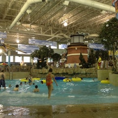 Photo taken at Water Park Of America by Kim D. on 3/26/2012