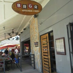 Photo taken at BRGR Kitchen + Bar by David A. on 9/9/2012