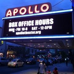 Photo taken at Apollo Theater by Aaron B. on 9/4/2011