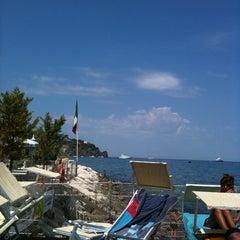 Photo taken at Acquamarina by Efisia C. on 8/10/2011