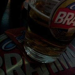 Photo taken at Quiosque Chopp Brahma by Andre C. on 5/12/2012
