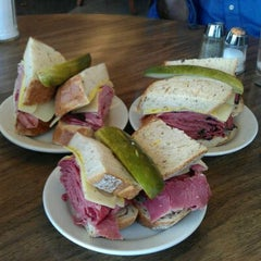 Photo taken at Shapiro's Delicatessen by Jeff E. on 11/12/2011