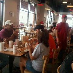Photo taken at Five Guys by Kimberly W. on 7/24/2011