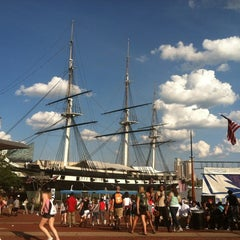 Photo taken at Inner Harbor by Alison K. on 6/23/2012
