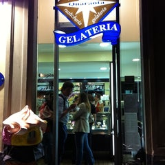 Photo taken at Gelateria Quaranta by Francesco P. on 10/3/2011