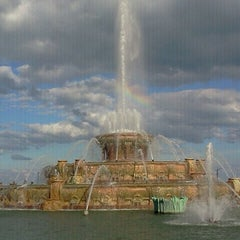 Photo taken at Grant Park by Beatriz M. on 9/4/2011