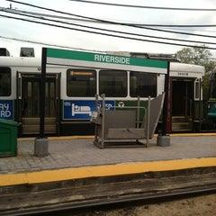 Photo taken at MBTA Riverside Station by Steph M. on 5/6/2011