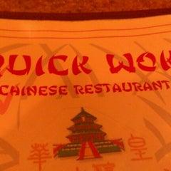 Photo taken at Quick Wok by Matt S. on 1/31/2012