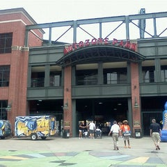 Photo taken at AutoZone Park by ~Roni~ on 5/6/2012