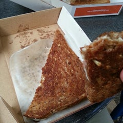 Photo taken at Cheeseboy: Grilled Cheese To Go by Gshocker on 7/10/2012
