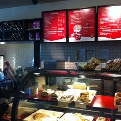 Photo taken at Starbucks by Justin H. on 12/21/2010