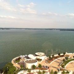 Photo taken at Hilton Madison Monona Terrace by Robert K. on 6/30/2011