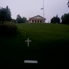 Photo taken at Edward Ted Kennedy Grave by Chad M. on 5/2/2012