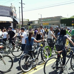 Photo taken at Bicycle District by Nick C. on 4/15/2012