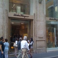 Photo taken at Salvatore Ferragamo by Cesar T. on 5/26/2012