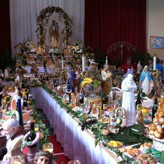 Photo taken at St. Joseph's Altar by superJennifer on 4/14/2011