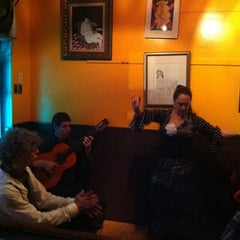 Photo taken at Cafe Andalucia by Marta U. on 1/20/2011