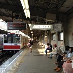 Photo taken at 西中島南方駅 (Nishinakajima-Minamigata Sta.) (M14) by Yuriko I. on 5/5/2012