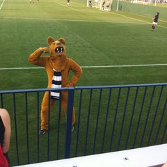 Photo taken at Jeffrey Field by Curtis A. on 8/24/2012