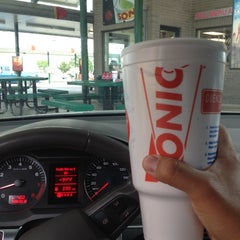 Photo taken at SONIC Drive-In by Kevin N. on 7/8/2012