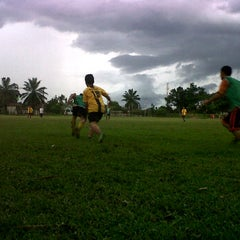 Photo taken at Lapangan Bola FISIP by alefya a. on 10/8/2011