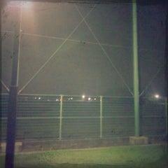 Photo taken at 新宝満川地区野球場 by GATTACA on 10/3/2011