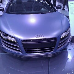 Photo taken at Audi Stand at Detroit Auto Show by Kathryn L. on 1/16/2012
