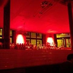 Photo taken at Café du Commerce by Simon D. on 3/17/2012