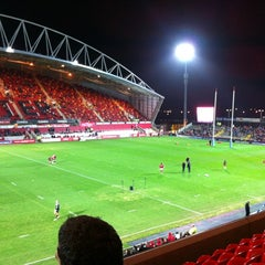 Photo taken at Thomond Park by Maroon T. on 11/26/2011