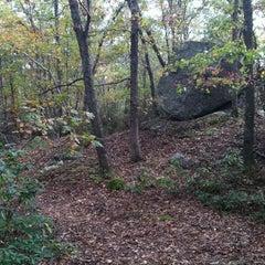 Photo taken at Oswegatchie Hills Nature Preserve by Ben P. on 10/22/2011